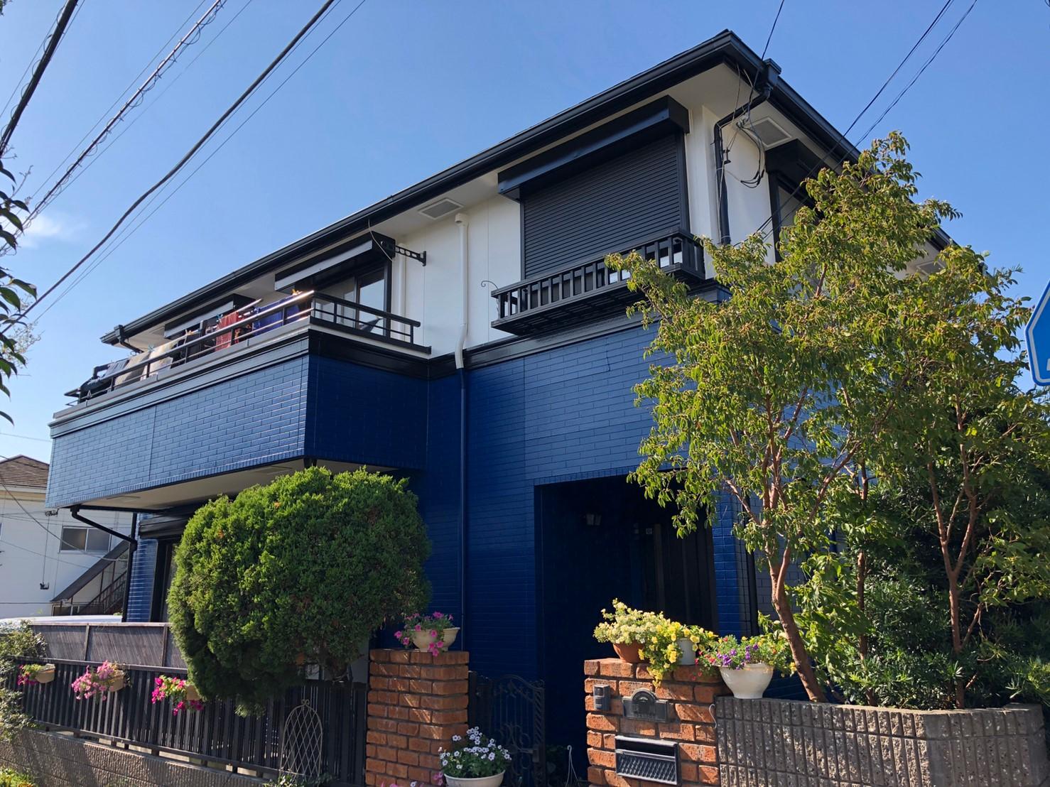 横浜市瀬谷区瀬谷  N・T様|外壁塗装