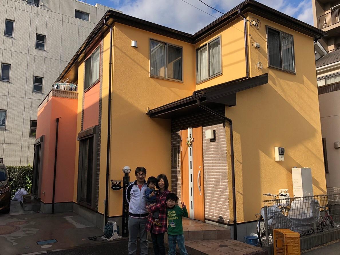 大和市中央林間西 A・T様 外壁屋根塗装