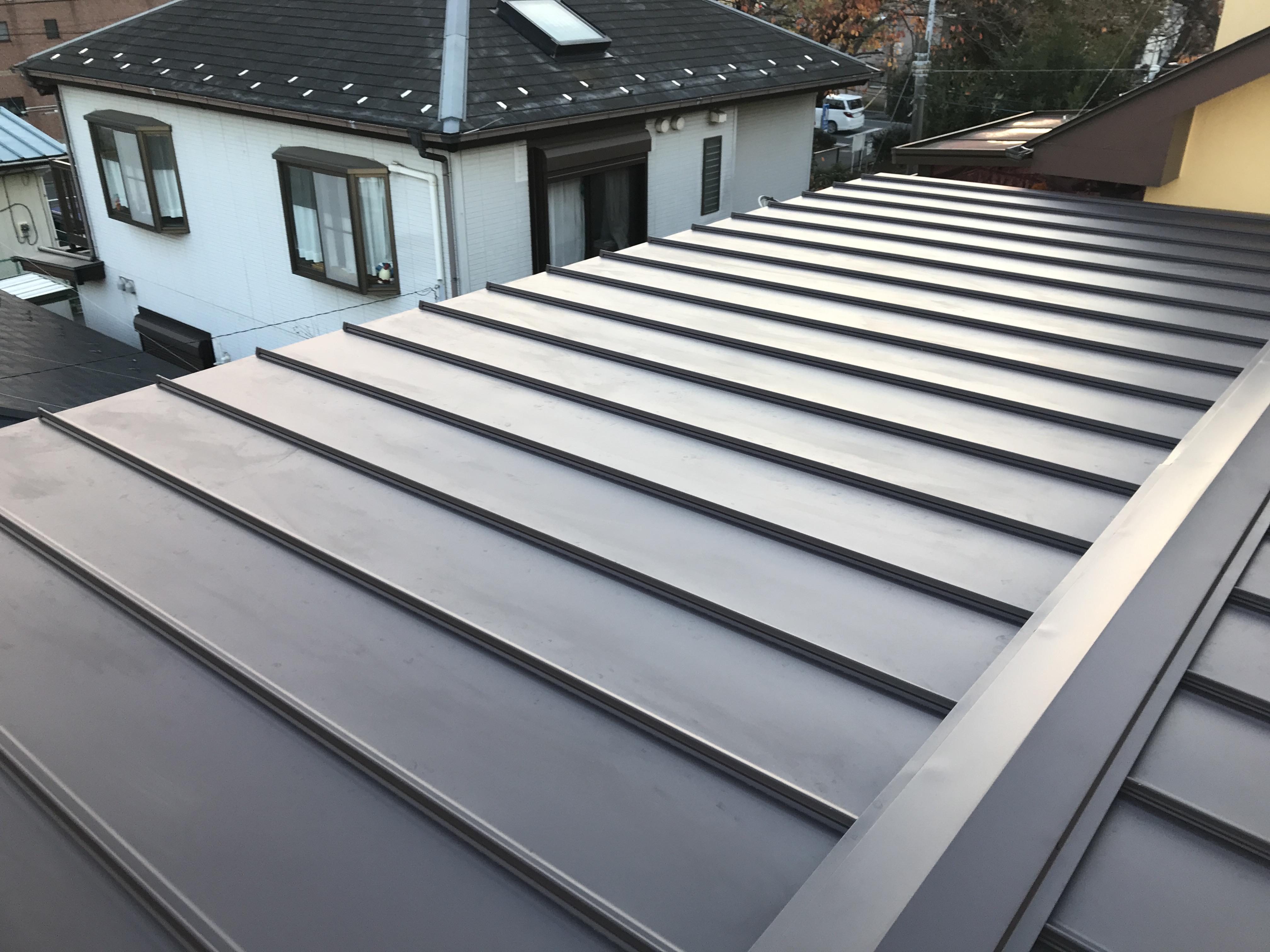 屋根材のタフビーム