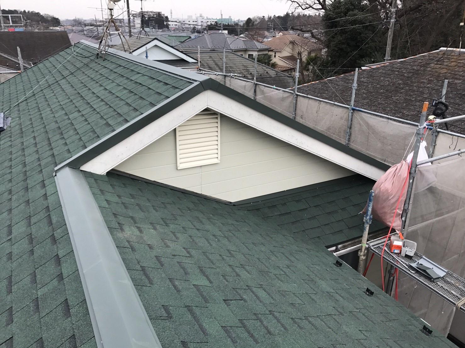 大和市中央林間 W・M様 | 雨樋交換,屋根カバー工法リフォーム