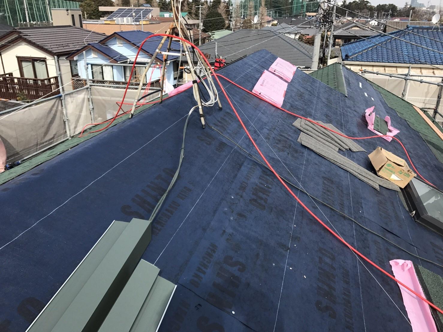 大屋根防水シート 粘着キング