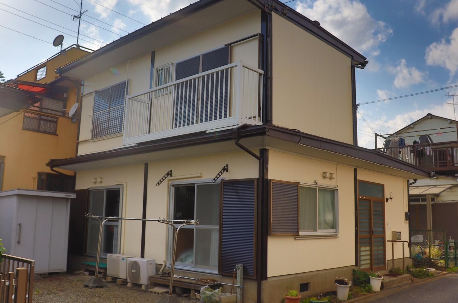 大和市深見台 H・C様 外壁塗装,屋根葺き替え,雨樋交換,破風板板金巻き工事