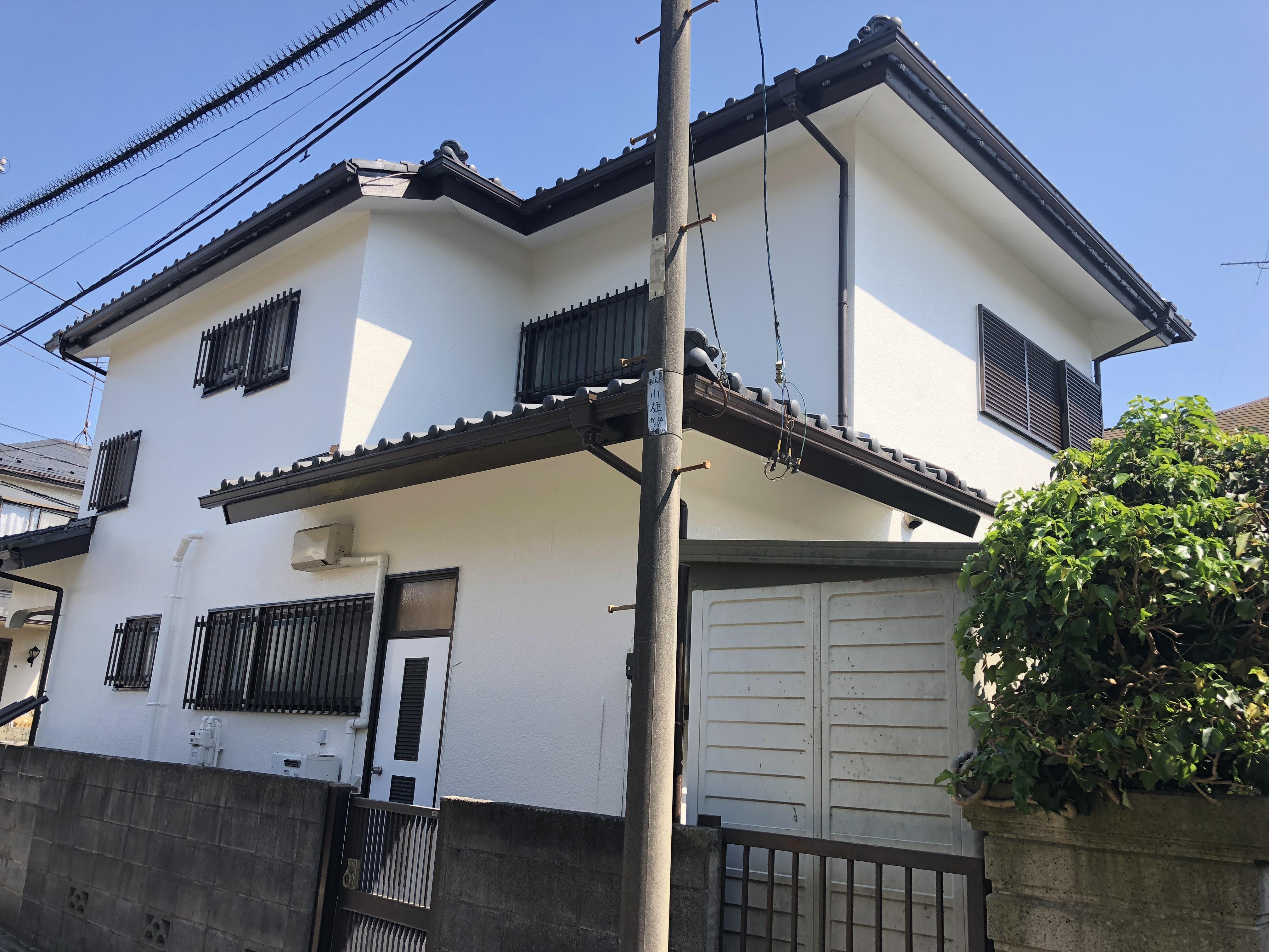 横浜市瀬谷区瀬谷  M・M様|外壁塗装,雨樋交換