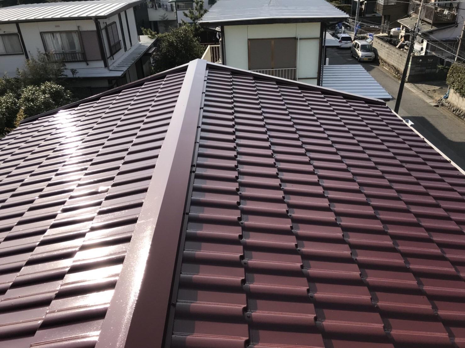 茅ヶ崎市浜須賀K・H様邸|屋根塗装
