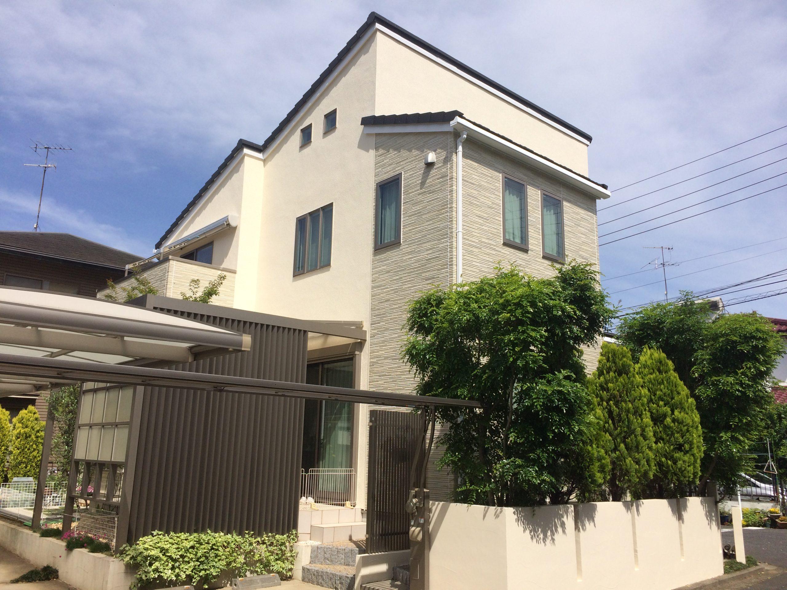横浜市泉区上飯田町K・K様|外壁塗装