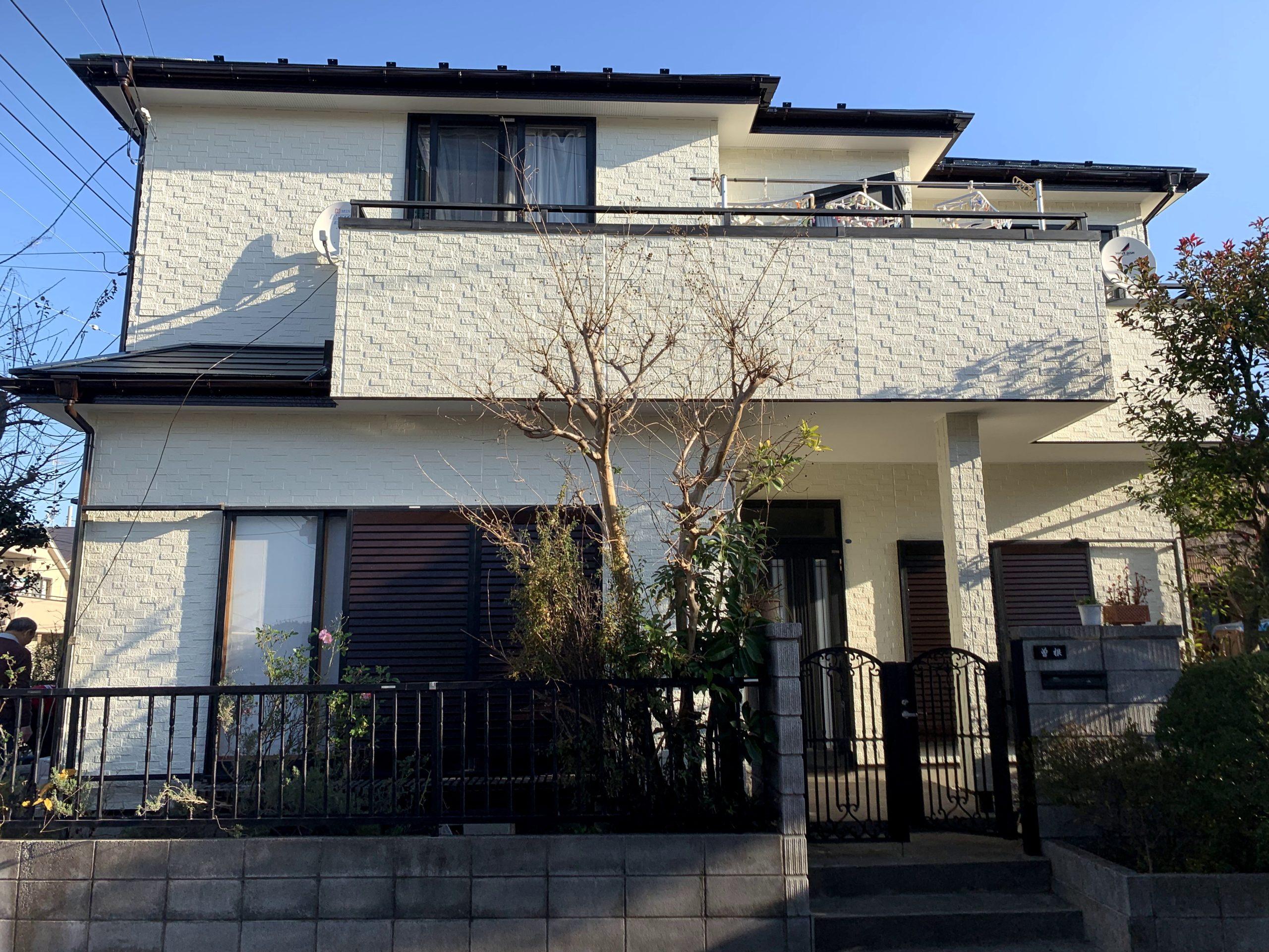 横浜市旭区万騎が原S・R様 外壁屋根塗装