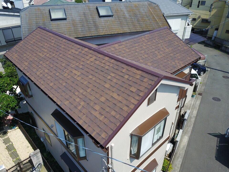 横浜市泉区中田西Y・S様|屋根カバー工法