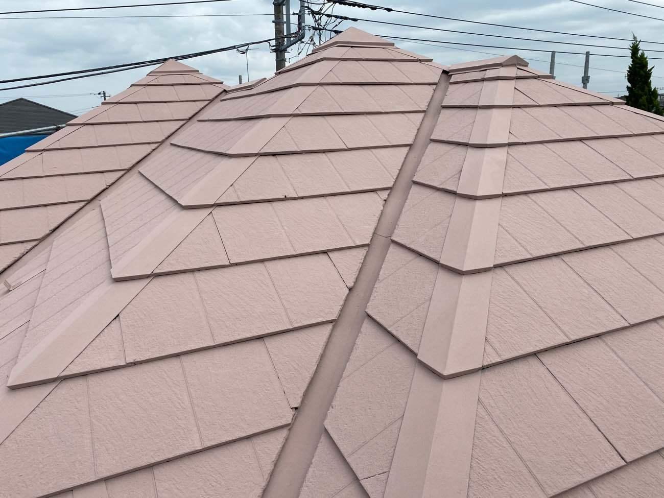 泉区E様邸 屋根塗装工事