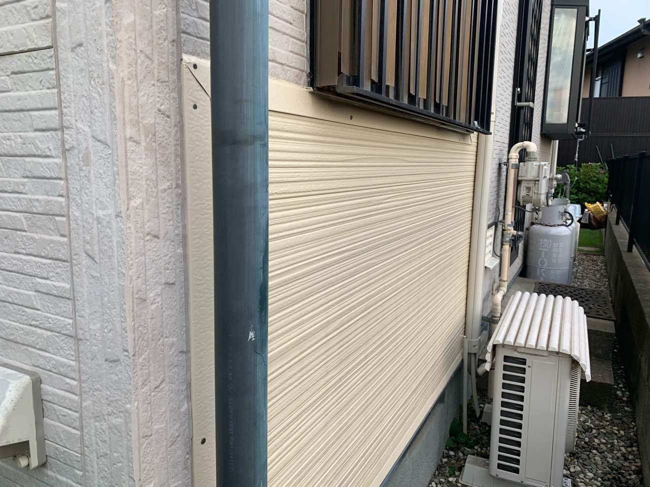 外壁サイディング一部張り替え