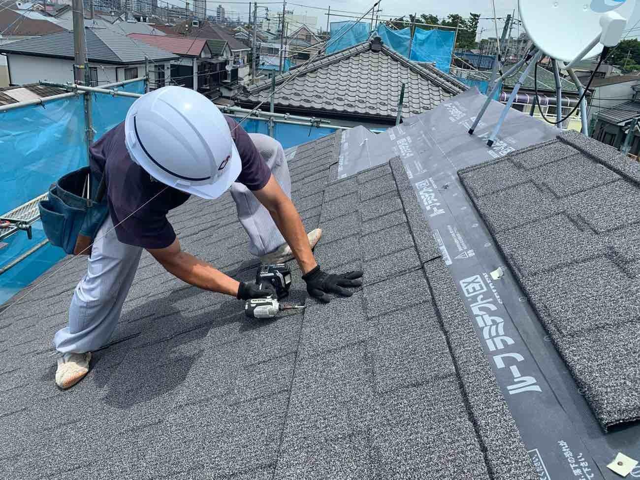 泉区の屋根工事はハウスメーカーより高品質で3割安いマルセイテック