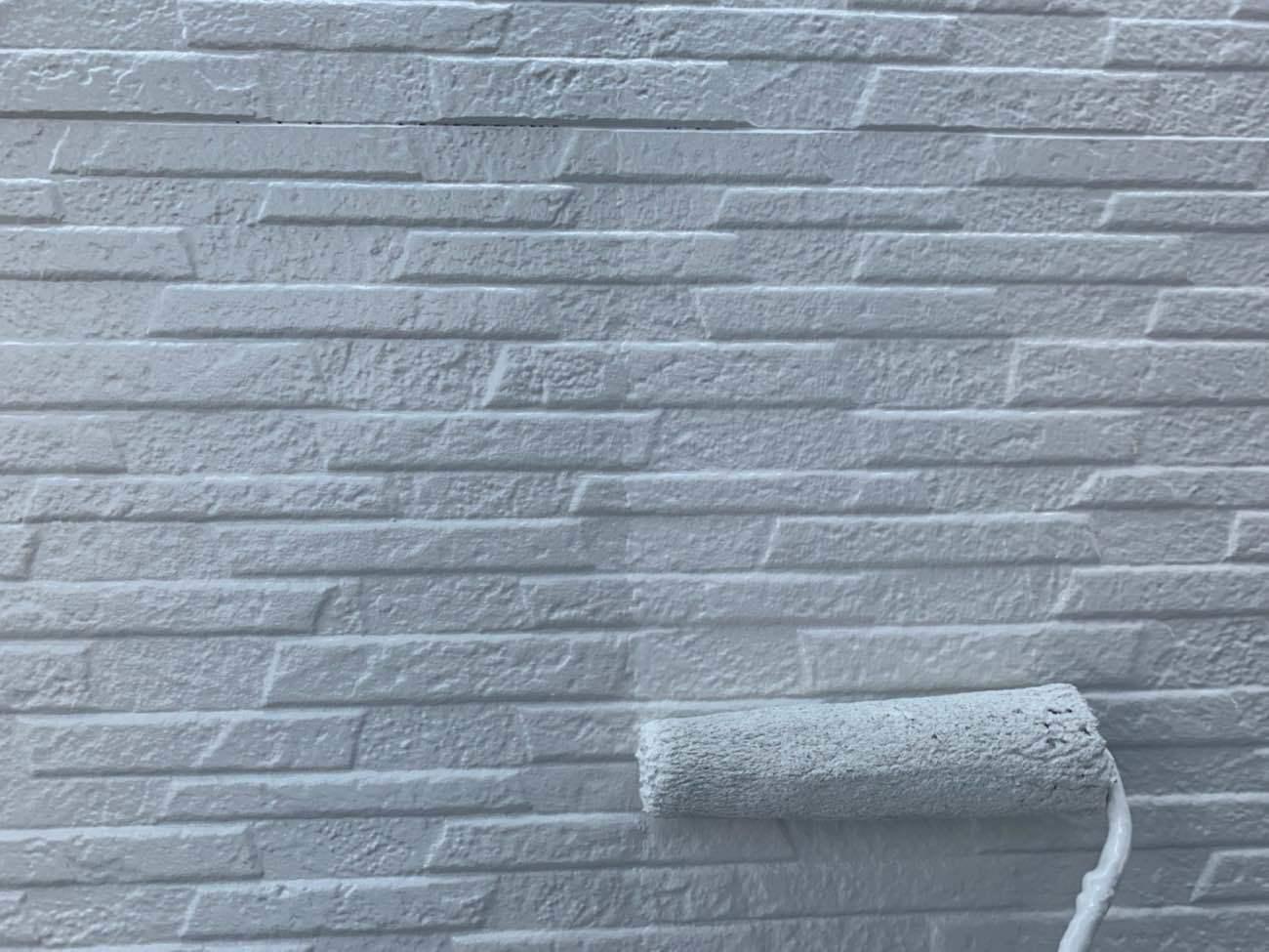 外壁塗装中 日本ペイントパーフェクトトップ