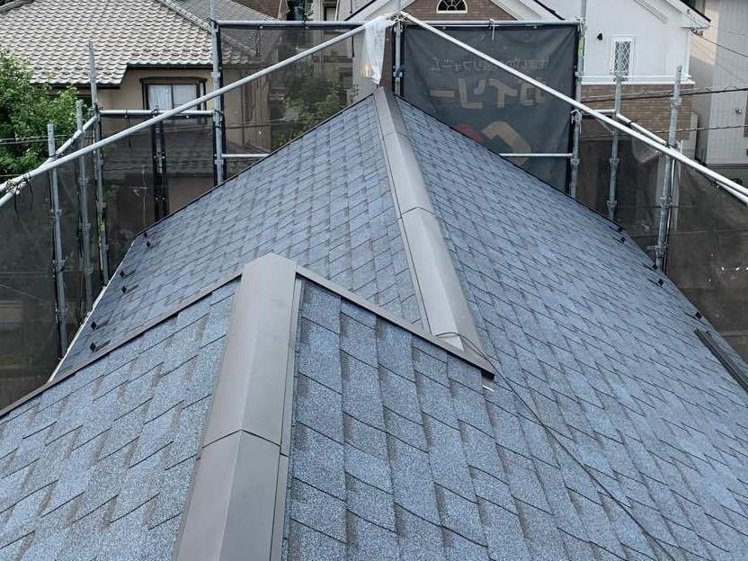 大和市つきみ野T様邸|屋根カバー工法