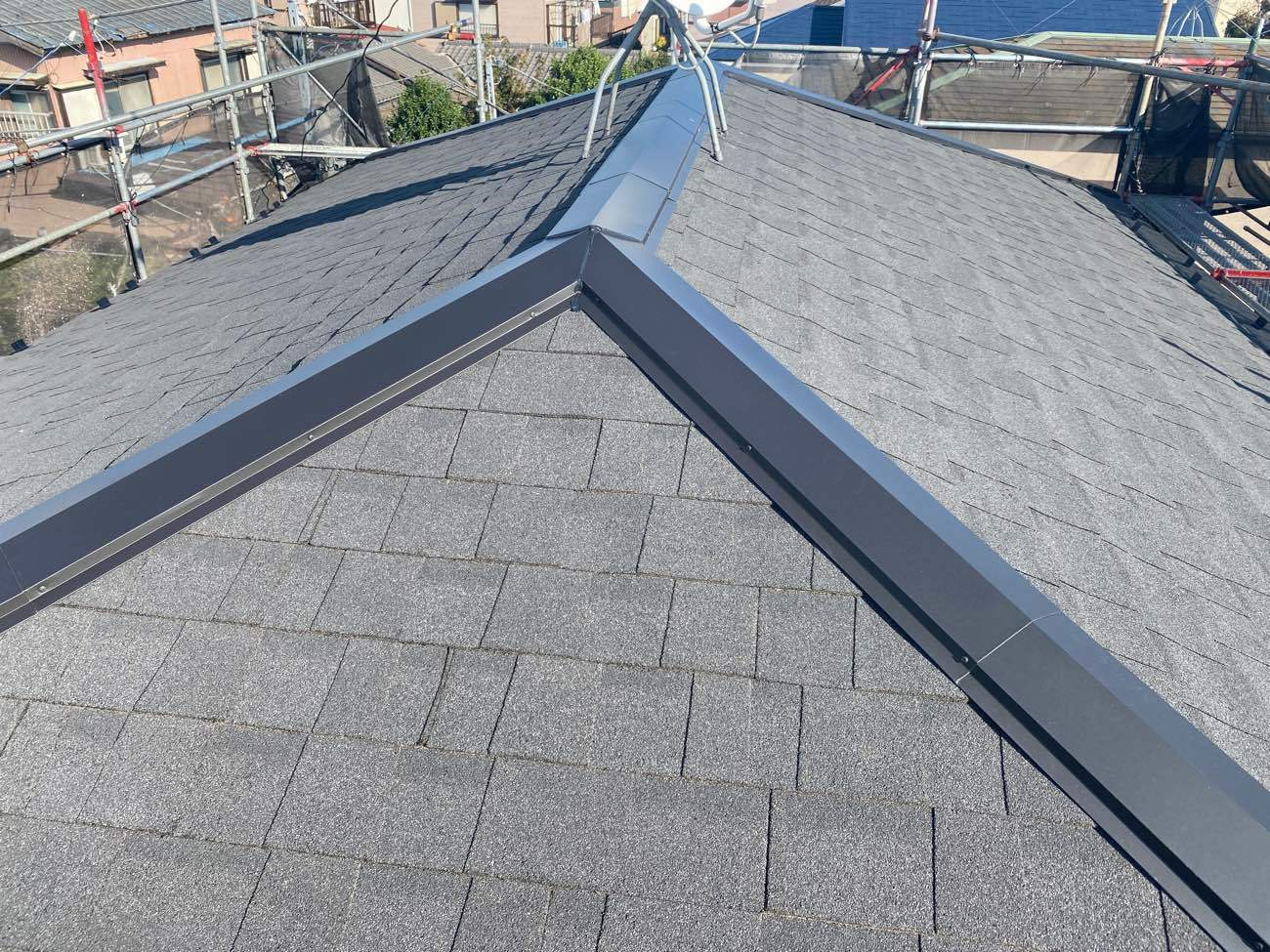 藤沢市 H様|屋根カバー工法