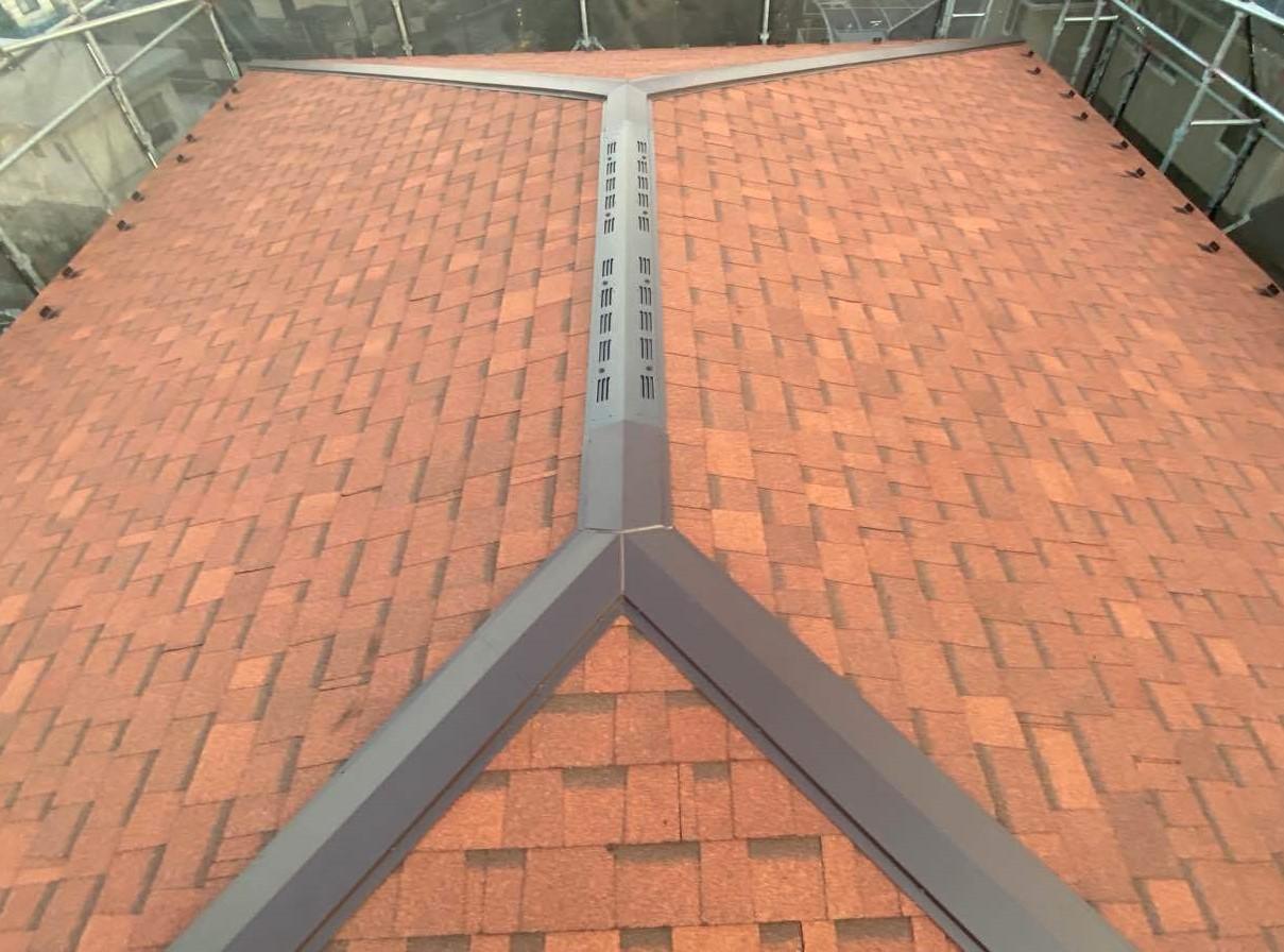 旭区 T.H様|屋根重ね葺き工事