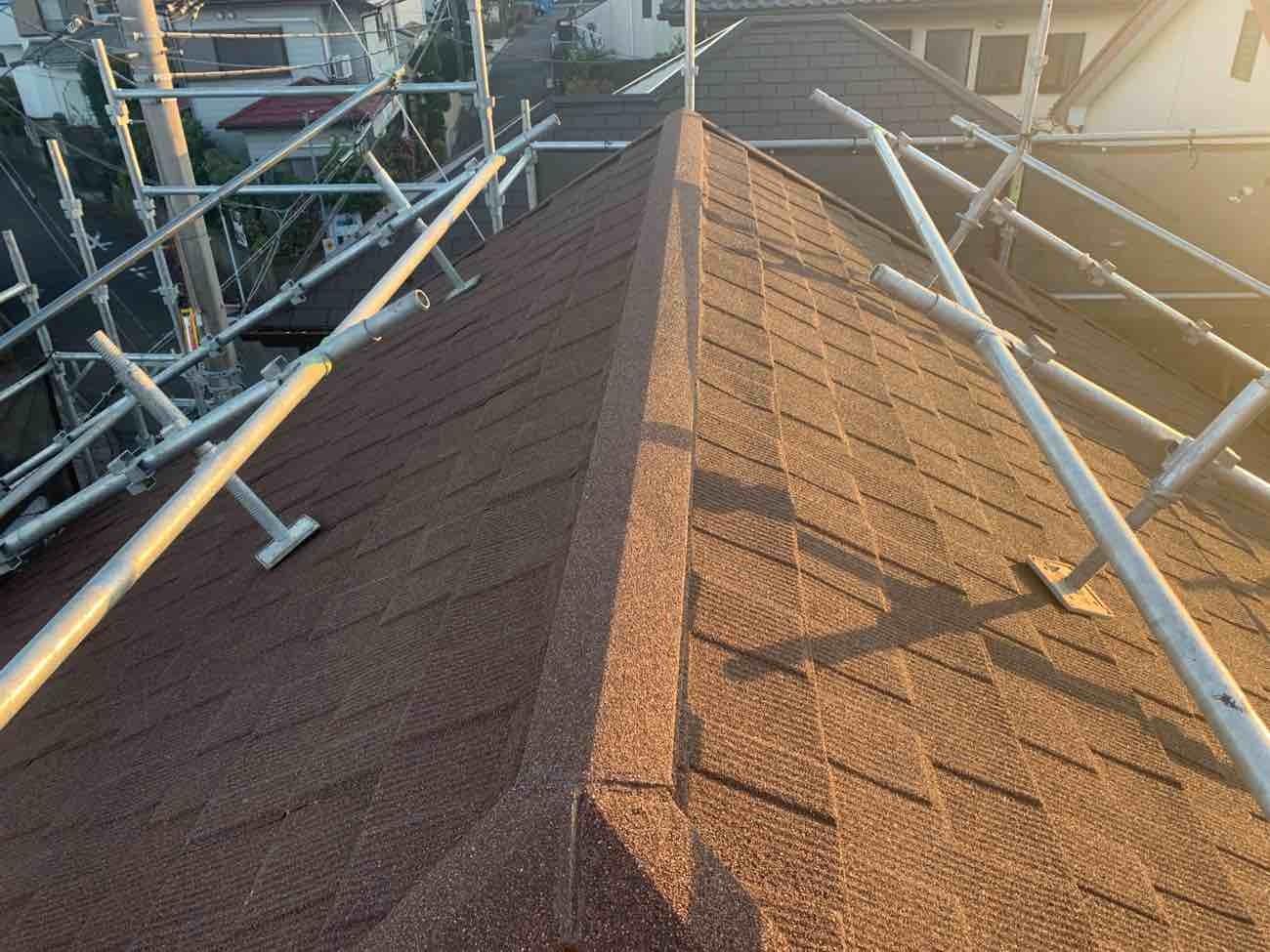 大和市 M.Y様|屋根重ね葺き工事