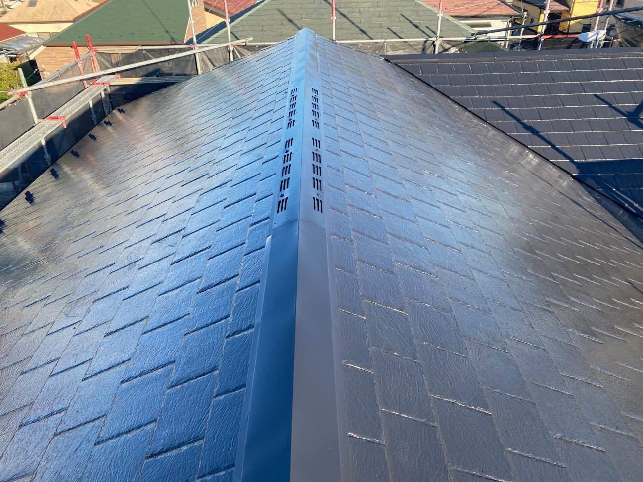 屋根塗装:ガイソールーフガードフッ素(R-12)