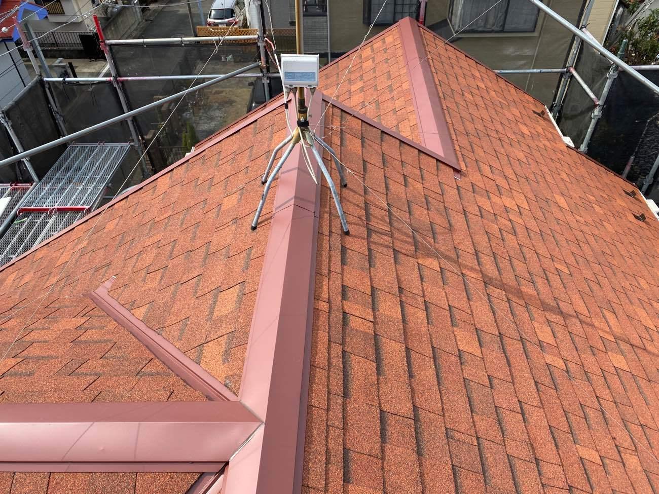 大和市南林間 S様|屋根カバー工法