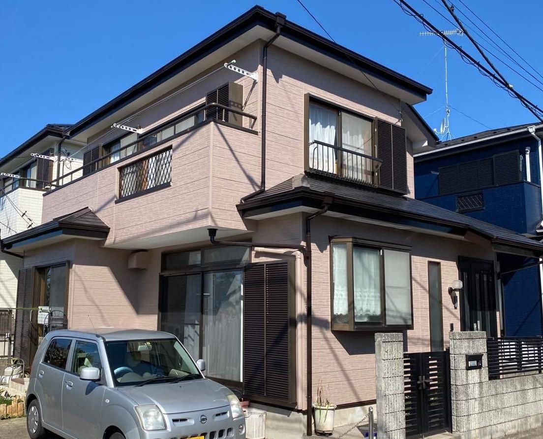 藤沢市 入内島よし子様|外壁塗装工事