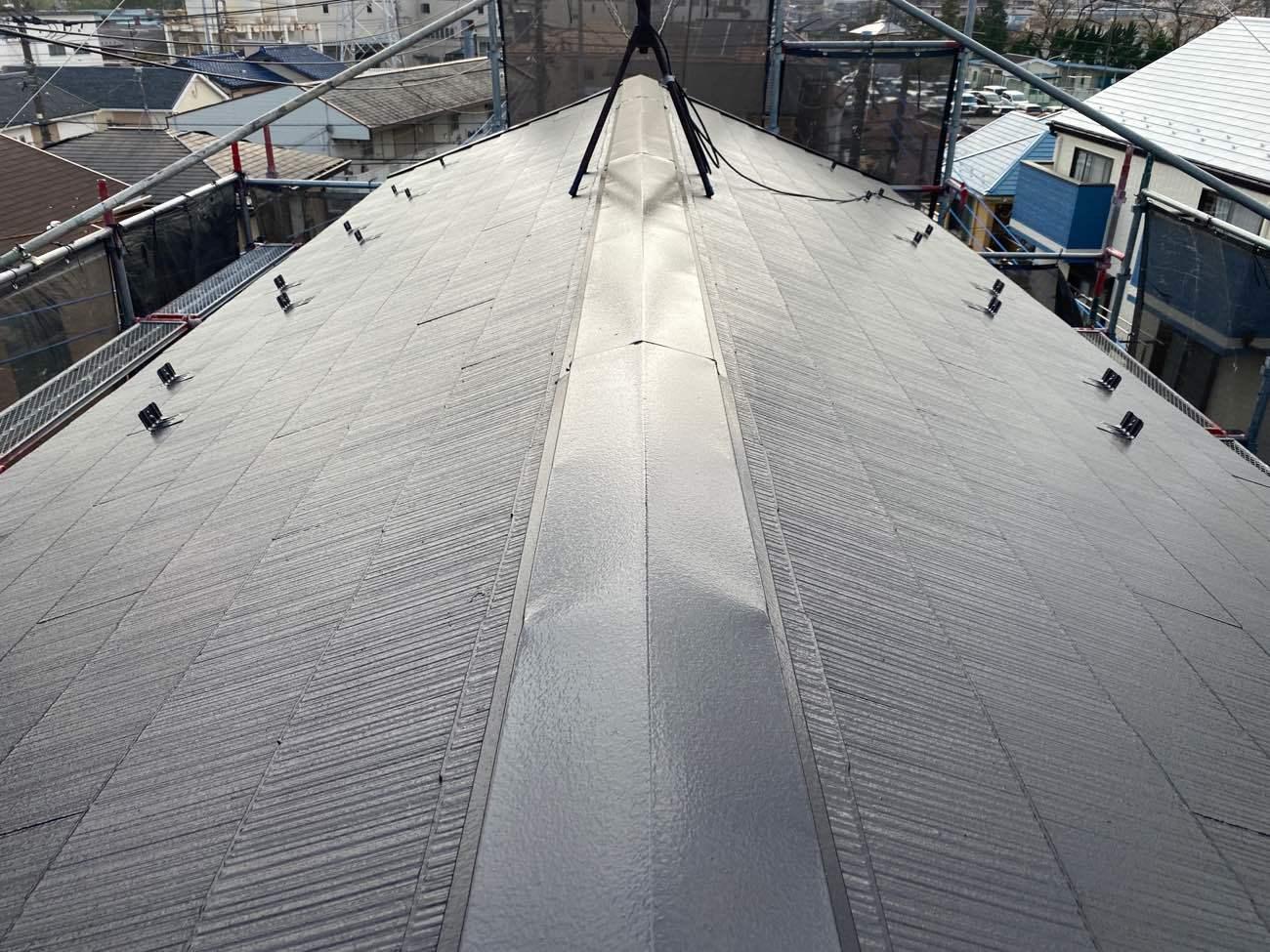 座間市 S様 屋根塗装工事