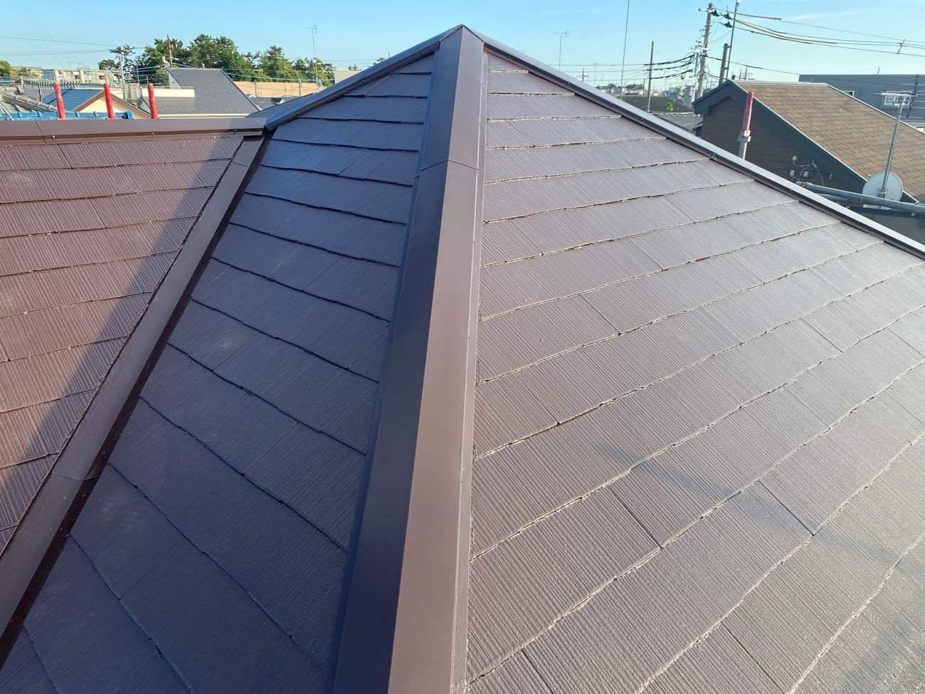大和市 S様|棟板金交換工事・屋根塗装工事
